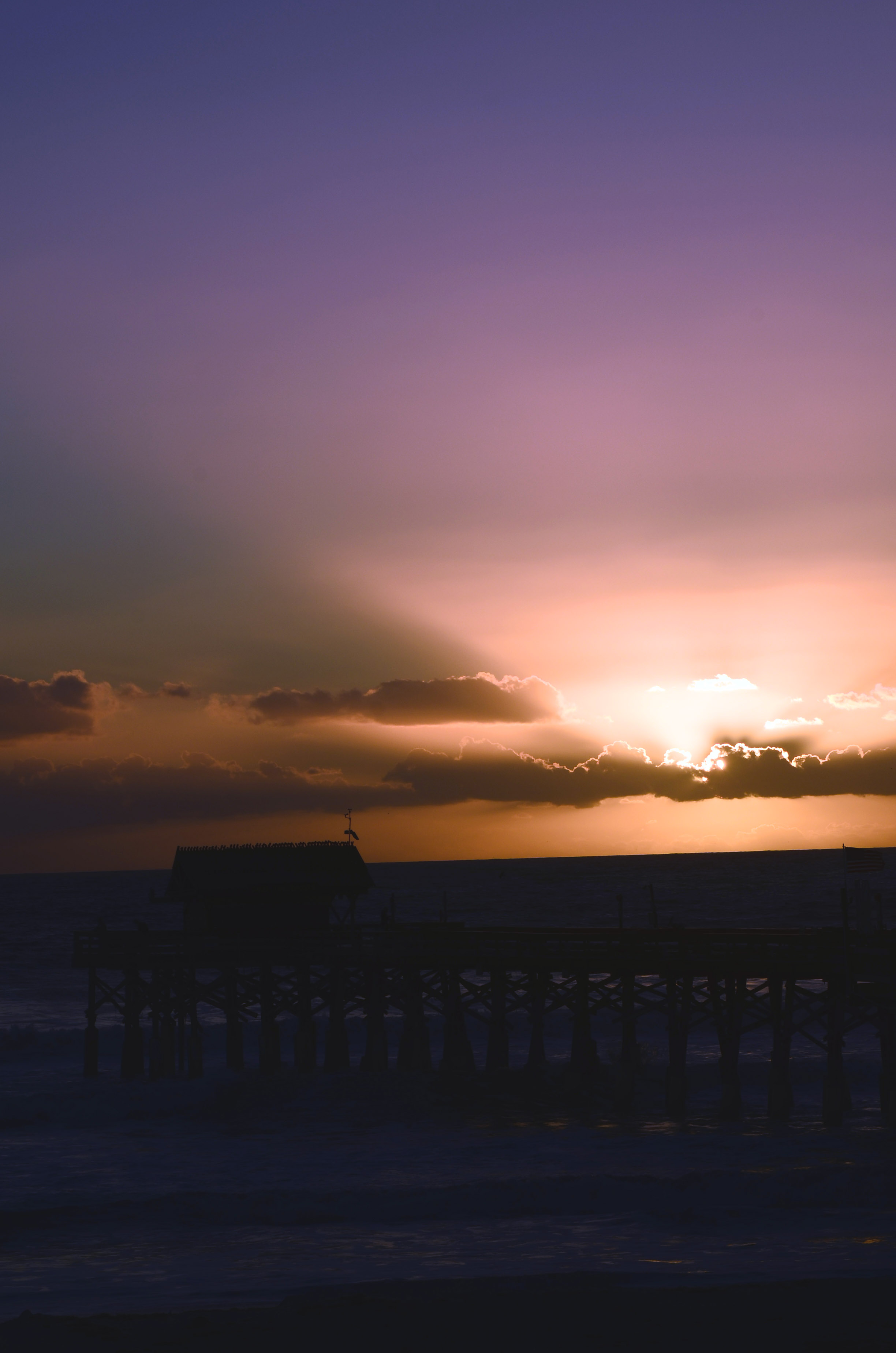 dawn 1 cocoa beach Florida, all rights reserved Ernest J. Bordini, Ph.D.